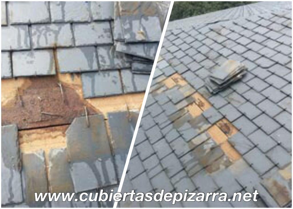Reparación de tejados de pizarra en Aravaca