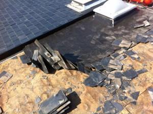 Reforma de tejados de pizarra en Madrid