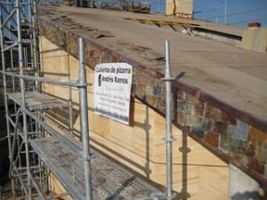 Arreglo de tejados de pizarra