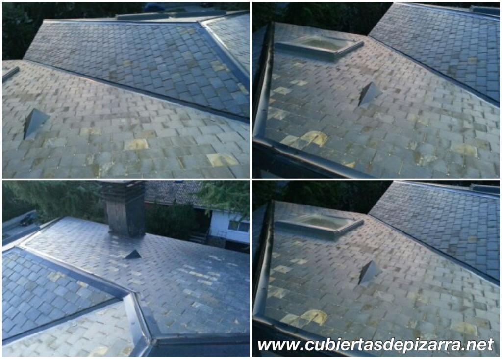 reparación de tejados de pizarra en Boadilla del Monte
