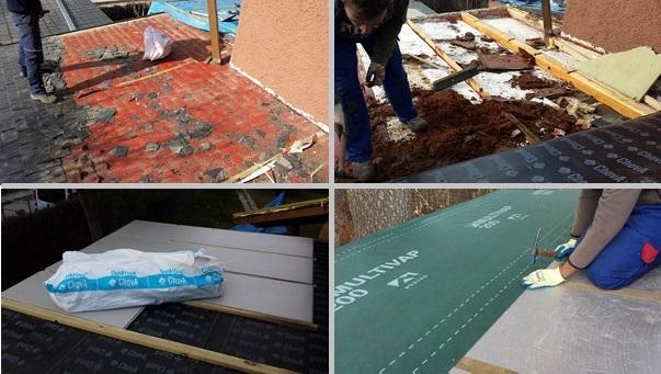 Reparaci n de tejados de pizarra con doble rastrelado - Tela asfaltica pizarra ...