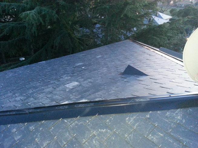Nueva reparación de tejado de pizarra en Boadilla del Monte (Madrid)