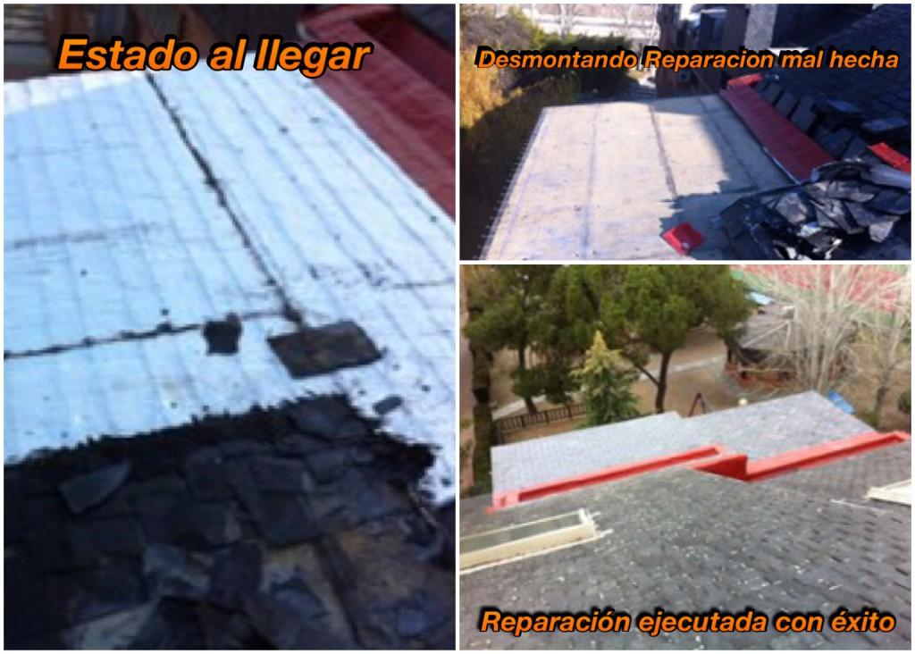 Reparación de tejados de pizarra en Pozuelo de Alarcón