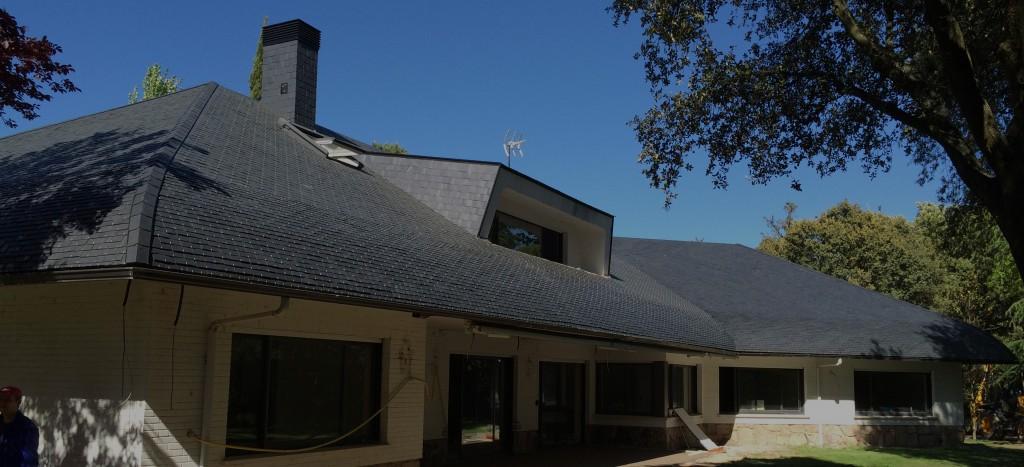 tejados de pizarra y su colocación