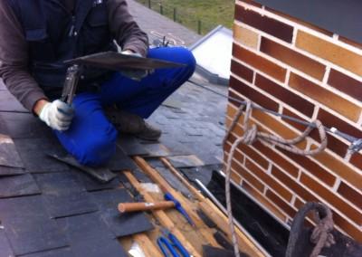 reparacion de tejados de pizarra Arroyomolinos
