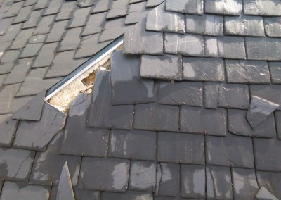 reparacion de tejados de pizarra Las Rozas