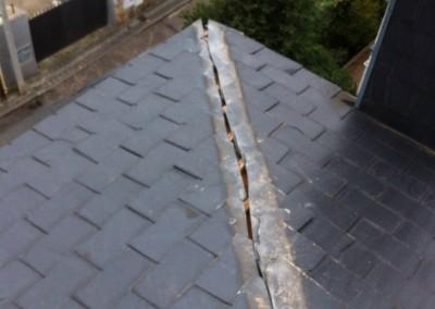 reparacion de tejados de pizarra Los Peñascales