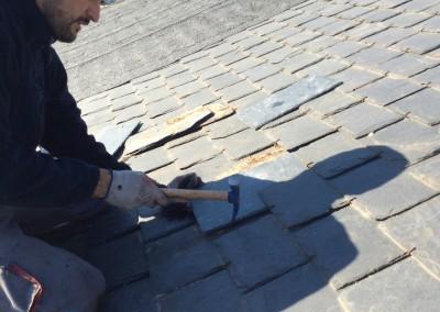 reparacion de tejados de pizarra Valdemorillo