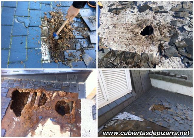 Rehabilitación y reparación de tejados de pizarra
