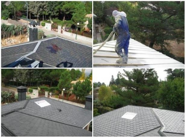 Reparacion completa de tejados de pizarra