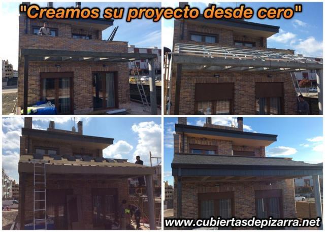 Estructuras para tejados de pizarra en Madrid