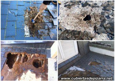 colocación de cubiertas y tejados de pizarra en Madrid