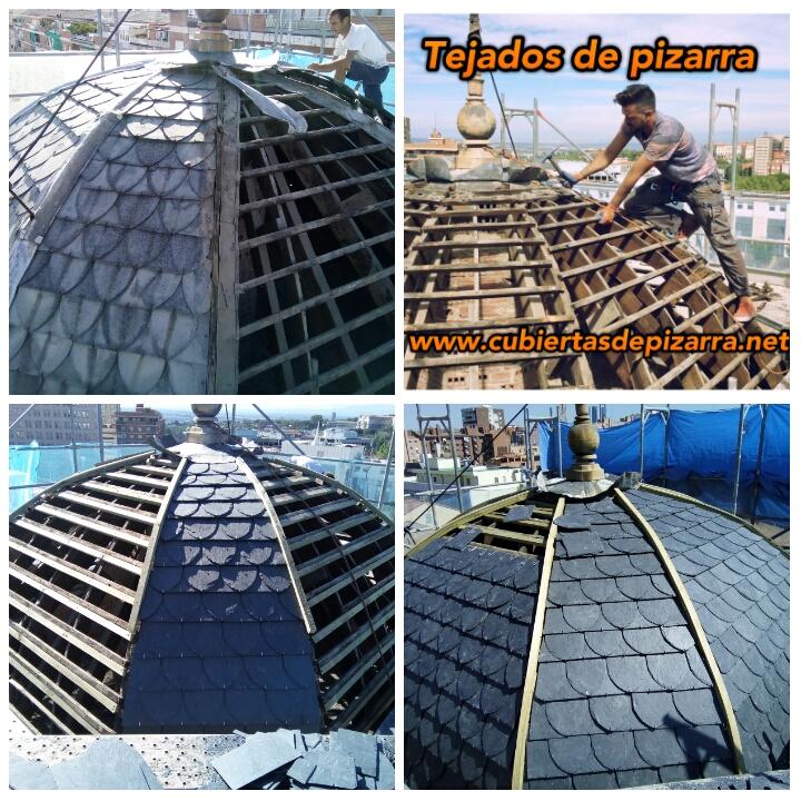 tejados de pizarra cupula