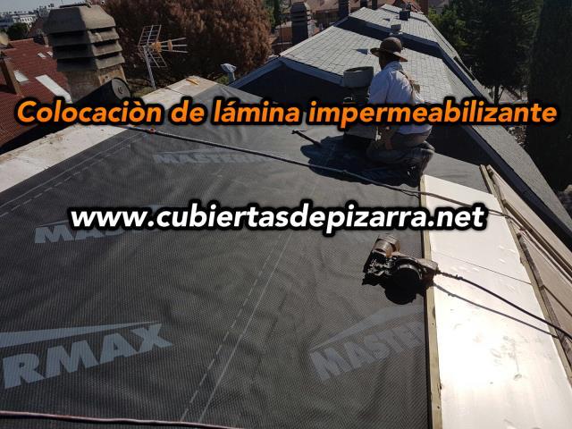 Impermeabilizaci n de tejados de pizarra en pozuelo de alarcon andr s ramos - Impermeabilizacion de tejados ...