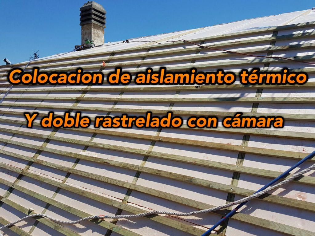 aislamiento de tejados de pizarra