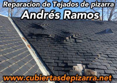 Andres Ramos Reparacion de tejados de pizarra en Madrid
