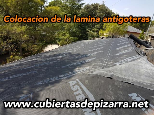 Precio de l amina impermeabilizante para tejados de pizarra