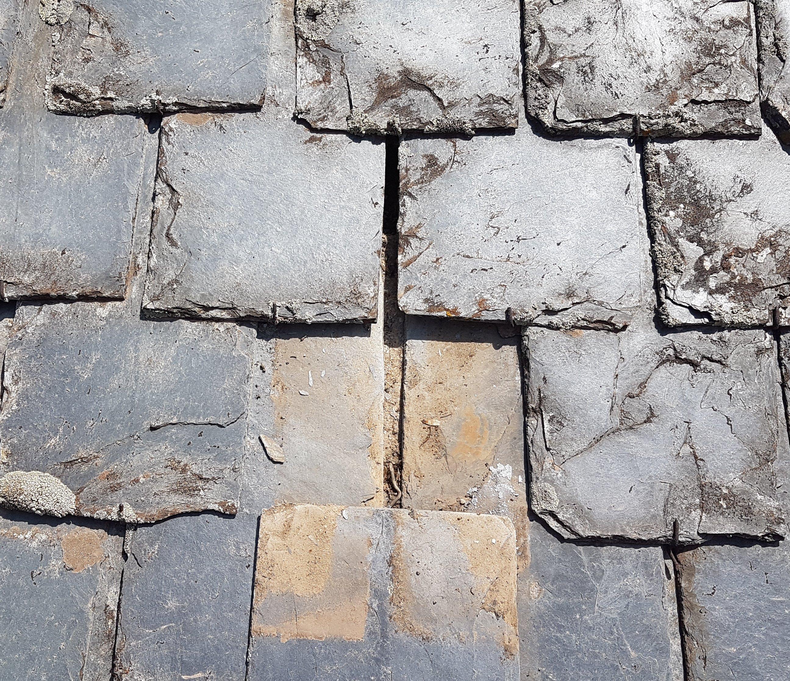 Mantenimiento de tejados de pizarra