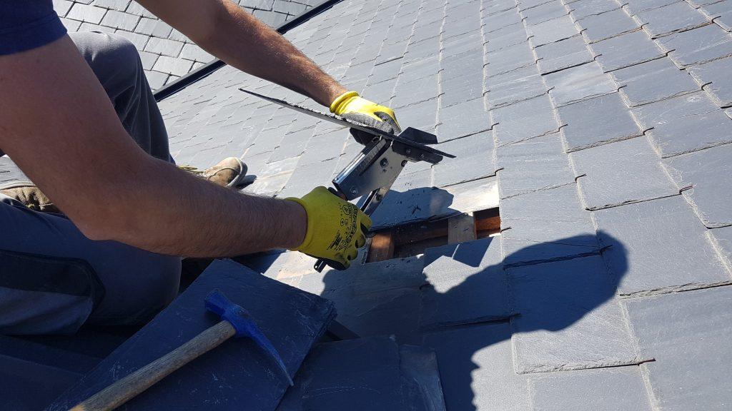 reparación de tejados de pizarra en Madrid Centro